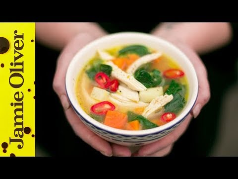 Healthy Chicken & Vegetable Soup | KerryAnn Dunlop