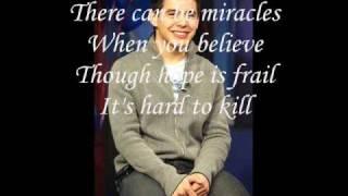 You believe+lyrics ...
