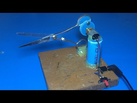 Automatic Scissors , Amazing idea for learning 2018 , science project 2018
