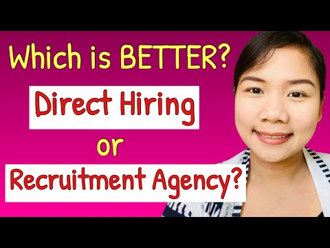Direct Hiring Or Recruitment Agency | Pros And Cons