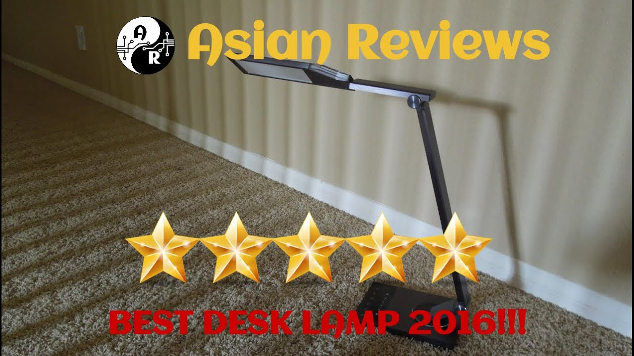 BEST Desk Lamp 2016 TaoTronics Metal LED Desk Lamp Review YouTube – Led Desk Lamps Reviews