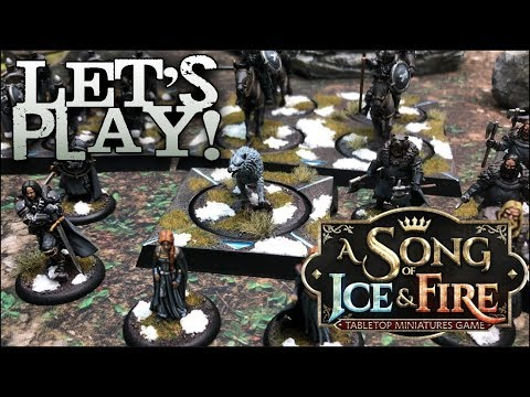 Lets Play!  A Song of Ice and Fire  CMON Games