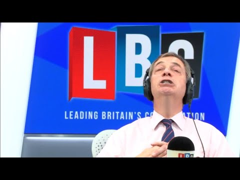 The Nigel Farage Show: Jeremy Corbyn calls for vote of no confidence. LBC - 17th December 2018