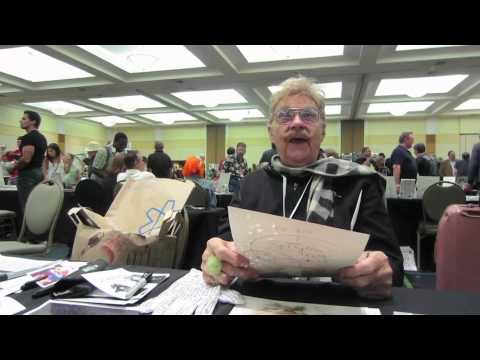 RIP TAYLOR Reacts to 1950s Photo of Himself @ Hollywood Show, Burbank 8.4.12