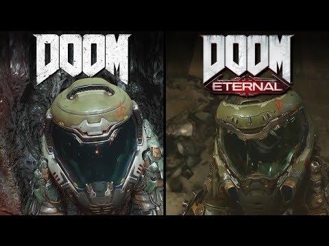 DOOM: Eternal Vs DOOM   Direction Comparison