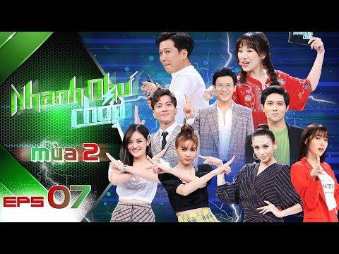 """Nhanh Như Chớp Mùa 2   Tập 07 Full HD: Ninh Dương Lan Ngọc tiếc nuối nhìn ST """"lên đỉnh"""" hụt"""