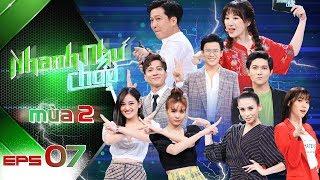 Nhanh Như Chớp Mùa 2 | Tập 07 Full HD: Ninh Dương Lan Ngọc tiếc nuối nhìn ST