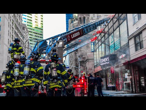 | FDNY 10-75 All-Hands Box 895 | Fire in First Floor Restaurant, Extension to Duct-Work