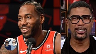 Jalen Rose on Kawhi:  'He laughed like an 85-year-old man' | Jalen & Jacoby | ESPN