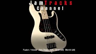 Funk/Fusion Bass Backing Track in 5/4 - JamTracksChannel -