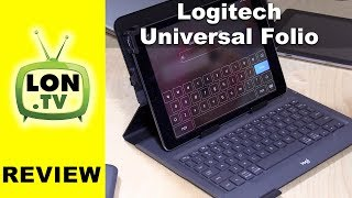 Logitech Universal Folio Review : Keyboard Case for iPad , Android, and Windows Tablets - 920-008334