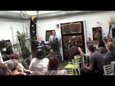 Peran Erminy Diserta Arte y Naturaleza en Organic Arte Con RicardoGil