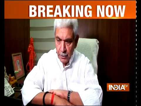 MoS Railways Manoj Sinha on Amritsar Train Accident