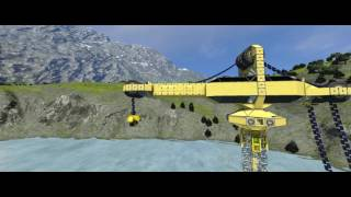 Space Engineers [21:9] multifunktion Crane - relocating, drilling