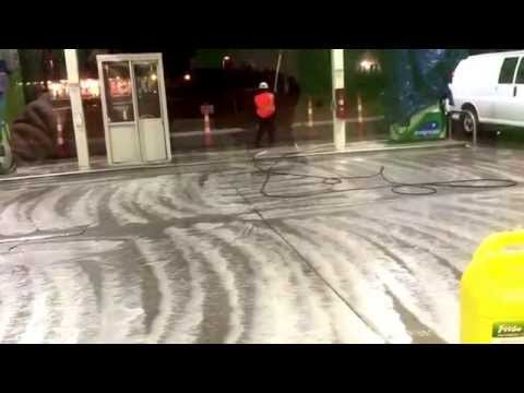 Super fast Clean work on Gas Station in USA