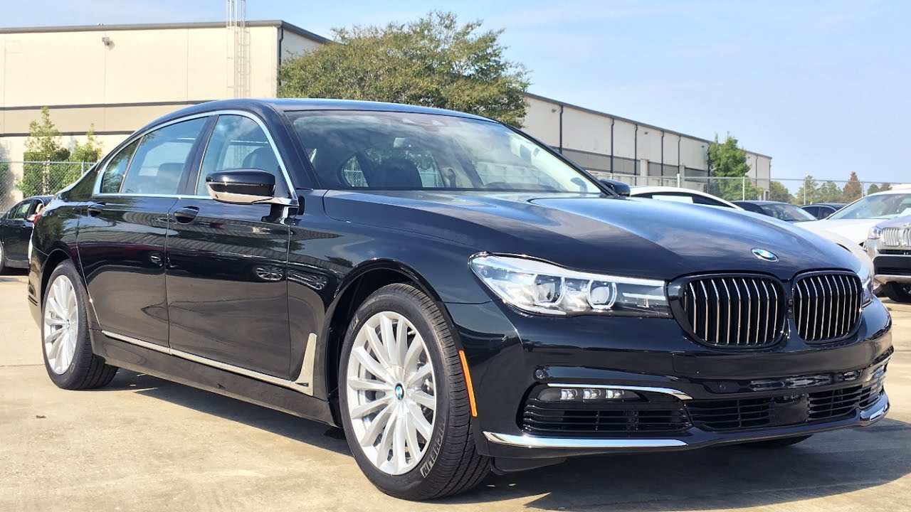 2017 BMW 7 Series 740i Full REVIEW Start Up Exhaust