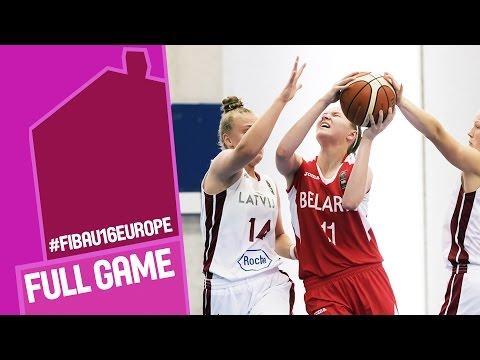 Latvia v Belarus - Full Game - FIBA U16 Women's European Championship 2016