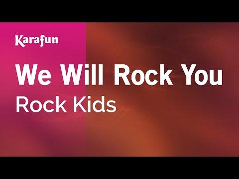 Karaoke We Will Rock You - Rock Kids *