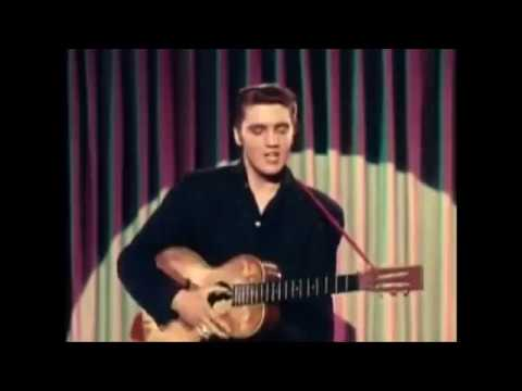 Elvis With Cliff Blue Suede Shoes