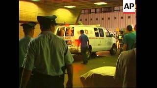 Injured from Tel Aviv blast arriving in hospital