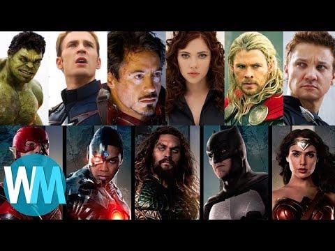 Top 10 különbség a Marvel és a DC között