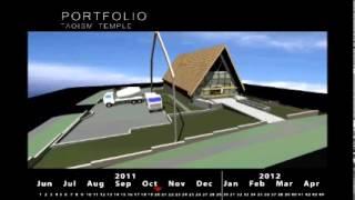 4D Construction Simulation - Revit Architecture + Navisworks.wmv