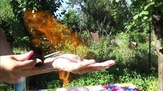 Как сделать огненные пузыри своими руками? СЕКРЕТЫ ШОУ МЫЛЬНЫХ ПУЗЫРЕЙ