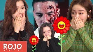 Coreanas Reacción a ROJO de J-balvin