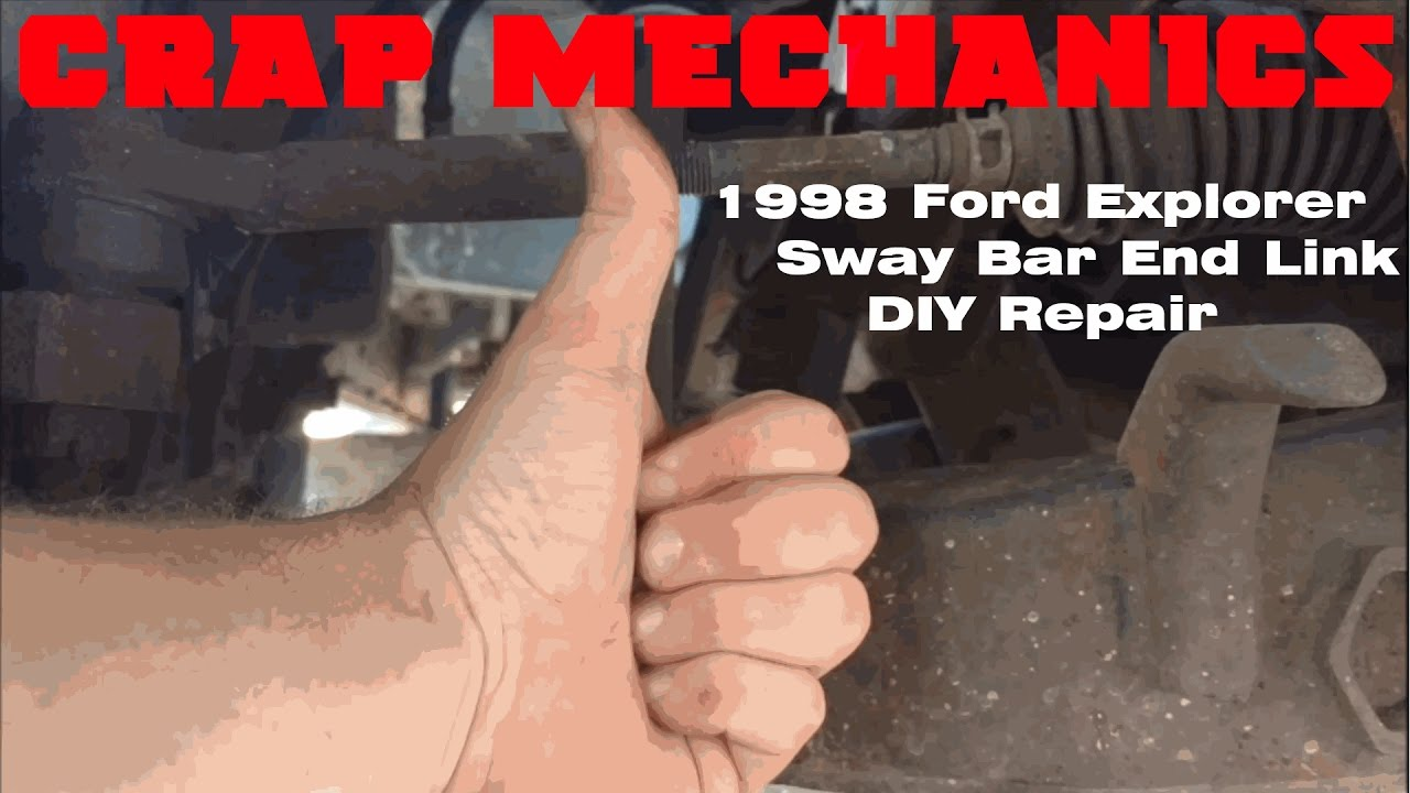 Crap Mechanics 1998 Ford Explorer Custom Sway Bar End Link Repair. Crap Mechanics 1998 Ford Explorer Custom Sway Bar End Link Repair. Ford. 1998 Ford Explorer Sway Bar Diagram At Scoala.co