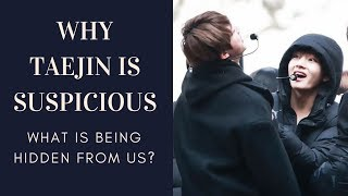 Suspicious taejin moments What are they hiding 태진 뷔진