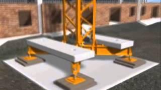 Легкий башенный кран San Marco SMТ. Принципы монтажа и работы.(, 2014-07-18T12:25:29.000Z)