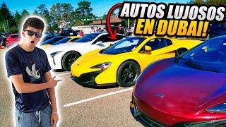 ME ENCONTRÉ CON LOS MILLONARIOS DE DUBAI EN UN CAR SHOW (HotSpanish Vlogs)