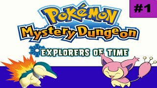Pokemon Mystery Dungeon: Explorers of Time - Episode 1 - Skitty