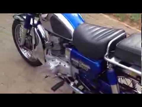 Honda CD200 RoadMaster - YouTube