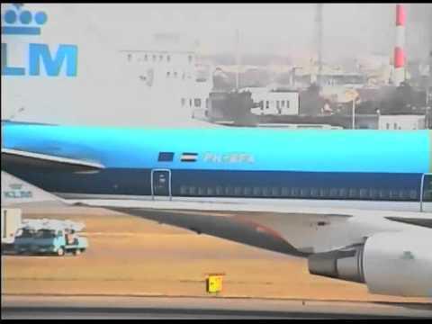 1997年 名古屋空港 07 (KLMオラ...
