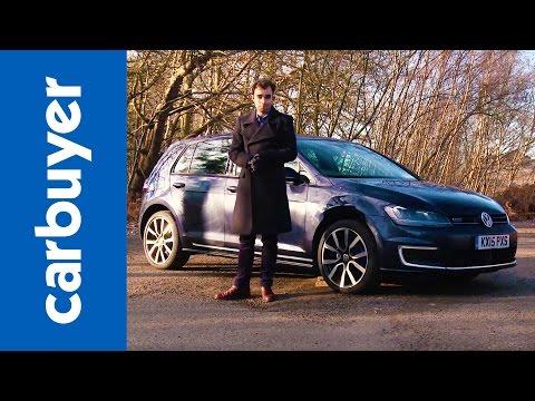 Volkswagen Golf GTE plug-in hybrid review - Carbuyer