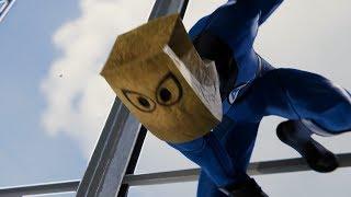 Spider-Man vs Wilson Fisk (Bombastic Bag-Man Suit Walkthrough) - Marvel