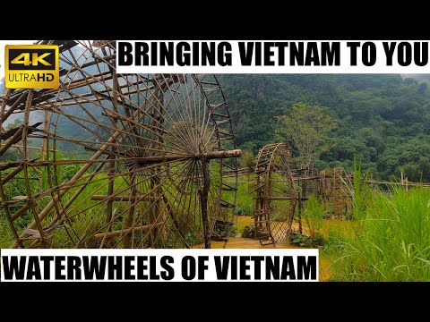 Waterwheels in Vietnam