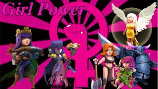Clash of Clans   Girl attack   Girl Power!