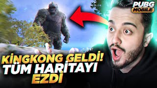 OHA! KİNG KONG DA GELDİ!!! NELER OLUYOR? GODZİLLA VS KİNG KONG?? PUBG Mobile