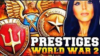 CALL OF DUTY WW2 W/DOOM LUCKYGIRL!!! ACHIEVING 6TH PRESTIGE!!!