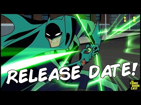 Justice League Action Release Date Announced