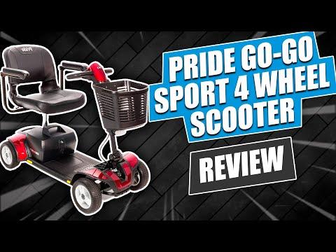 Pride Go-Go Sport 4 Wheel Scooter Review