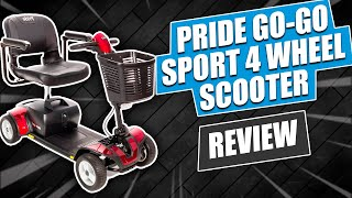 Pride Go-Go Sport 4 Wheel Scooter Review