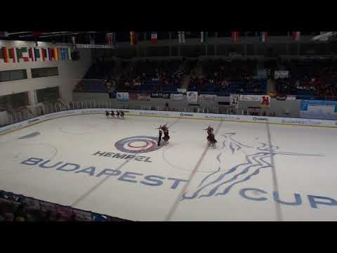 Budapest Cup 2018  Team Berlin 1 GER Senior Free Skating
