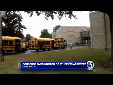 Waterbury school district to discuss student arrests