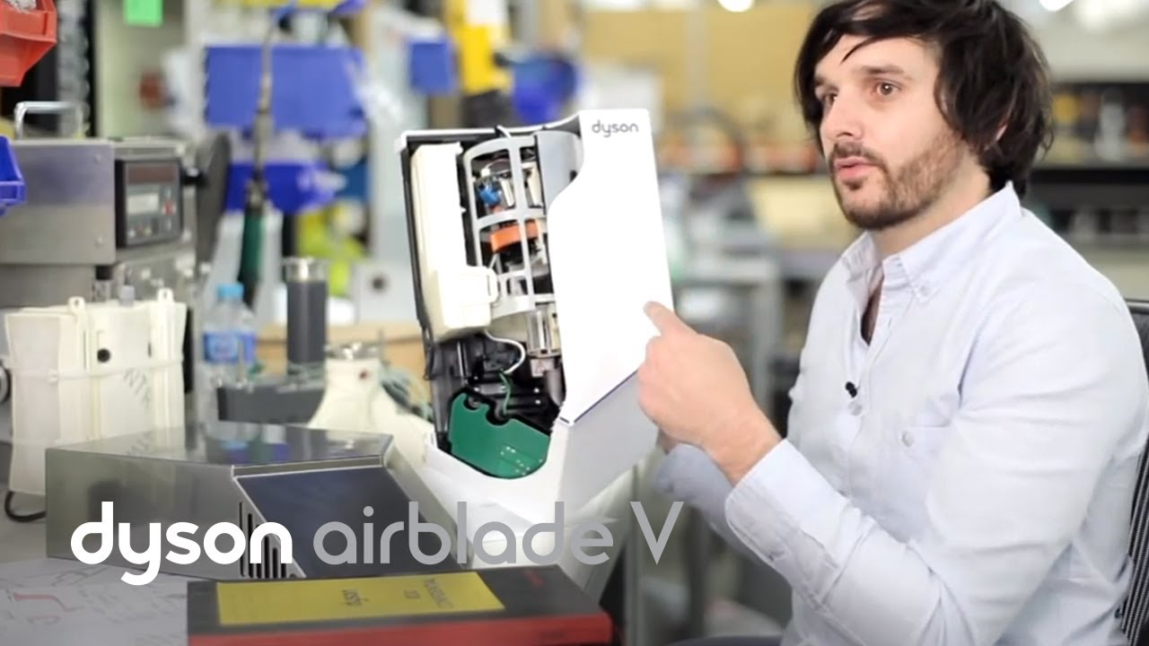 dyson airblade v hand dryer explained official dyson. Black Bedroom Furniture Sets. Home Design Ideas
