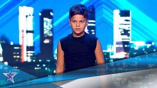 Tiene 8 años y su SUEÑO es BAILAR en 'EL REY LEÓN' | Audiciones 10 | Got Talent España 5 (2019)