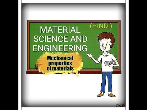 1) Introduction to material science (Hindi)