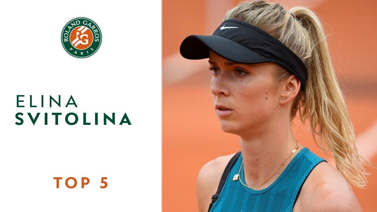 Elina Svitolina - TOP 5 | Roland Garros 2018